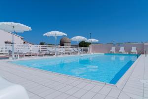 The swimming pool at or near Lido Azzurro