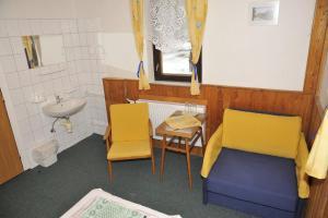 Гостиная зона в Penzion na Krizovatce
