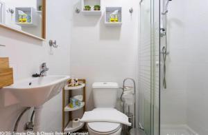 Um banheiro em Simple Chic Belem Apartment