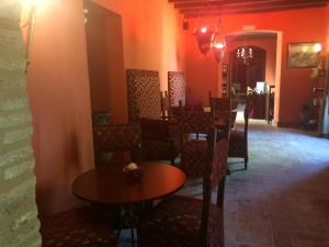 A restaurant or other place to eat at Hacienda Los Jinetes