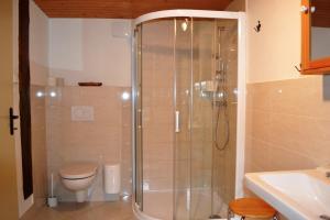 Ванная комната в Chalupa pod Klepáčem