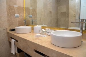 Ванная комната в Catalonia Royal Tulum Beach & Spa Resort Adults Only - All Inclusive