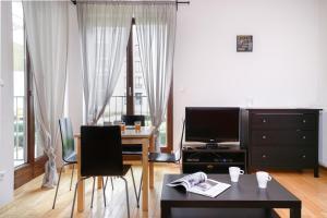 טלויזיה ו/או מרכז בידור ב-Capital Apartments - Centrum - Pokorna