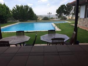 Piscina en o cerca de Hotel Rural & Spa Las Nubes
