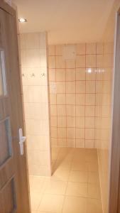 A bathroom at Hostel Bazar