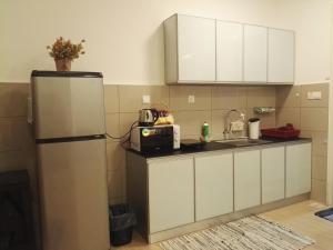 Dapur atau dapur kecil di Seaview Luxury Studio @ Butterworth, Penang