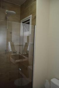 A bathroom at Hotel Pedra Moura