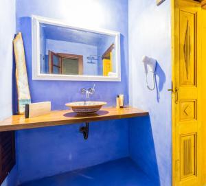 Salle de bains dans l'établissement Rodi