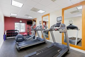 The fitness center and/or fitness facilities at Hilton Garden Inn Ft. Lauderdale SW/Miramar
