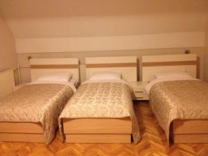 A bed or beds in a room at Hotel Prima