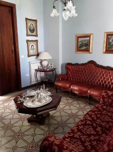 A seating area at Villa Nina