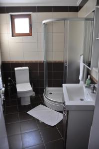 A bathroom at Hotel Prima