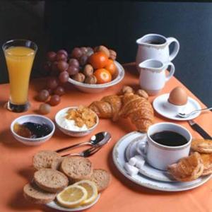 Завтрак для гостей Hotel Giorgi