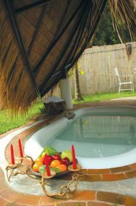 The swimming pool at or near Pai Island Resort