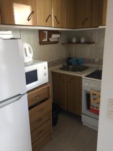 Una cocina o zona de cocina en Studio Aparthotel PYR