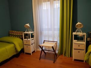 A seating area at La Terrazza di Carolina