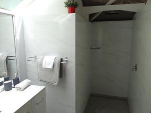 A bathroom at Eumundi Yacht Club B&B