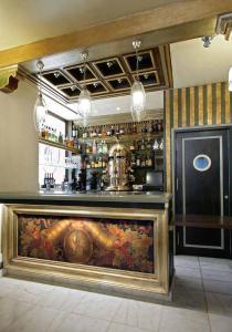The lounge or bar area at Sacristia de Santa Ana