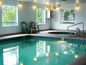 The swimming pool at or near Days Inn by Wyndham Ocean Shores