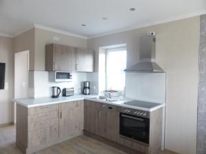 Küche/Küchenzeile in der Unterkunft Apartment in Stadtvilla Andrea