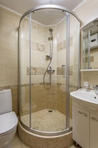 Ванная комната в Апартаменты на Сухаревской