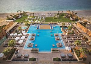 A view of the pool at Rixos Premium Dubai JBR or nearby