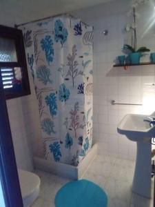 Un baño de Residencia Santiago Mallorca