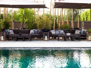 The swimming pool at or close to Samaria Hotel