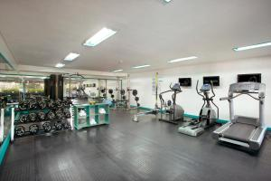 The fitness centre and/or fitness facilities at SOL by Meliá Benoa Bali All inclusive