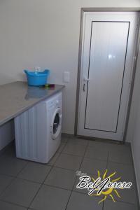 A bathroom at Casa Belaurora