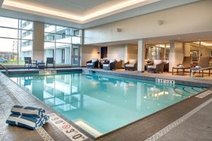 The swimming pool at or near DoubleTree By Hilton Halifax Dartmouth