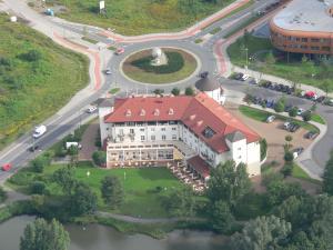 A bird's-eye view of Hotel Landhaus Milser