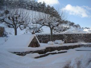 La Fragua de Etayo durante o inverno