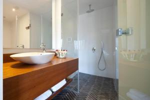 A bathroom at The Rothschild Hotel - Tel Aviv's Finest