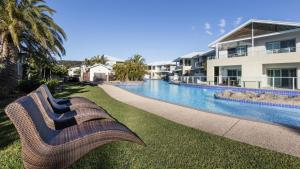 The swimming pool at or near Oaks Port Stephens Pacific Blue Resort