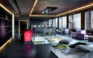 A restaurant or other place to eat at c-hotels Ambasciatori