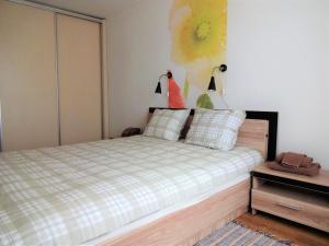 Gulta vai gultas numurā naktsmītnē Kaktuss Apartamenti