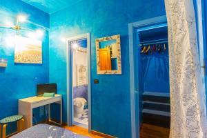 A bathroom at B&B Casa Florinda