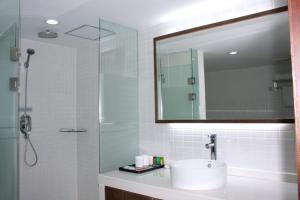 A bathroom at JI Hotel North Tianhe Guangzhou