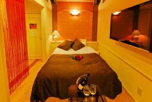 ホテル ジョイシーサイド (レジャーホテル)にあるベッド