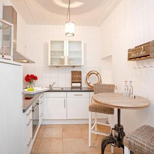 Küche/Küchenzeile in der Unterkunft Hof und Gut Jesteburg