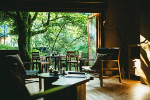 A restaurant or other place to eat at Hakone Retreat Villa 1/f