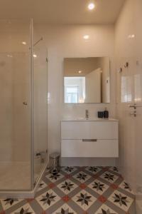 A bathroom at Terrace Camões