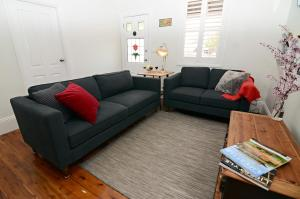 A seating area at Thelma's Temora