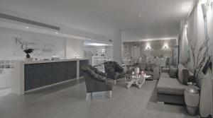 The lobby or reception area at Kythira Golden Resort