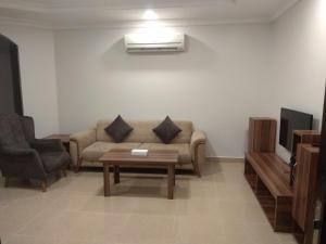Uma área de estar em Al Masah Al Thahabia
