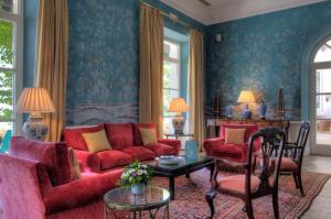 Area soggiorno di Finca Cortesin Hotel Golf & Spa