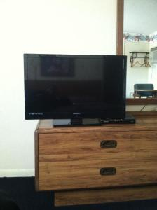 A television and/or entertainment center at College Inn Greencastle