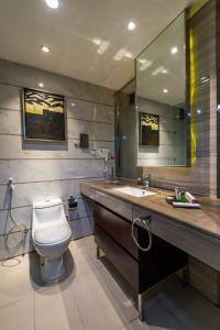 Um banheiro em Boudl Al Tahlia