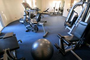 The fitness center and/or fitness facilities at Landmark Resort